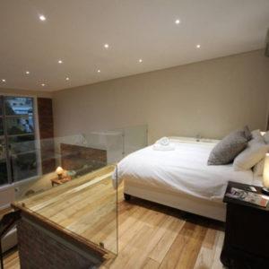 314 Westside - Bedroom on Mezzanine Level