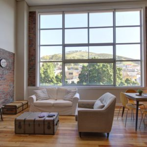 314 Westside Studios - Open Plan Lounge & Dining Room with Views of Signal Hill